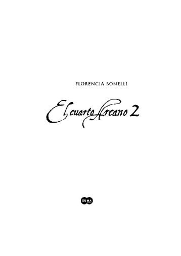 El cuarto Arcano - Florencia Bonelli