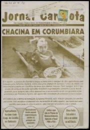 chacina em corumbiara - Centro de Documentação e Pesquisa ...