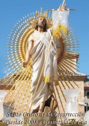 Santo Cristo de la Resurrección Fiestas 2008 - Granátula de Cva ...