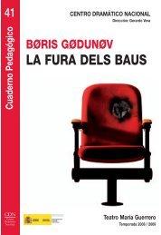 Boris Godunov - Centro Dramático Nacional