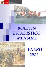 Desenvolvimiento del Sector Pesquero Enero 2011 - CRECEmype