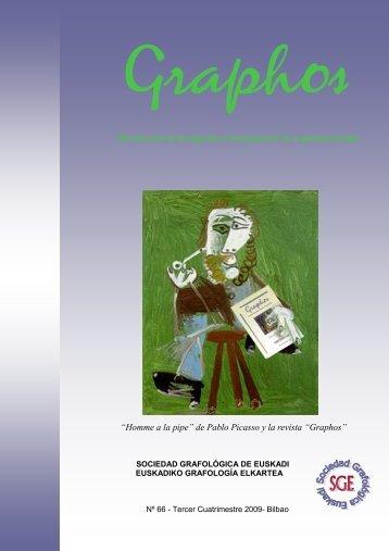Graphos - SOCIEDAD GRAFOLOGICA DE EUSKADI