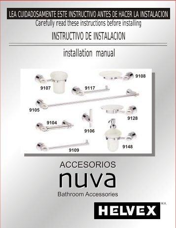 INSTRUCTIVO DE INSTALACION installation manual - Helvex