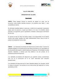 Sección 230B (2005) DESQUINCHE DE TALUDES Descripción ...