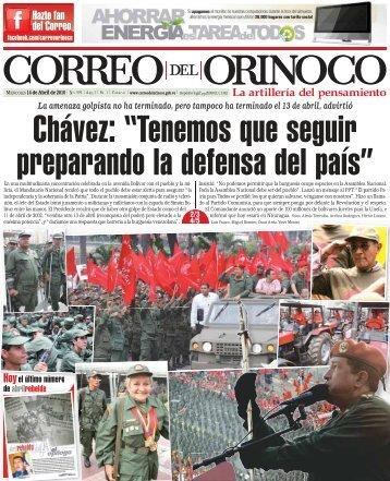 Chávez - Correo del Orinoco