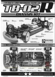 Tamiya TB-02R Manual - CompetitionX.com