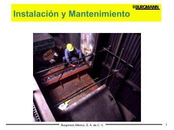 Instalación y Mantenimiento - NOVATEC Industrial SA