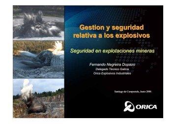 DETONADOR NO ELECTRICO - Camara Oficial Minera de Galicia