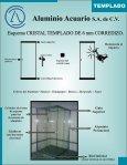 CRISTAL TEMPLADO catalogo - Aluminio Acuario Página de inicio - Page 2