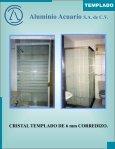 CRISTAL TEMPLADO catalogo - Aluminio Acuario Página de inicio - Page 4