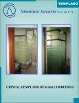 CRISTAL TEMPLADO catalogo - Aluminio Acuario Página de inicio - Page 5