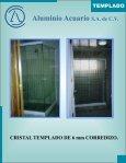 CRISTAL TEMPLADO catalogo - Aluminio Acuario Página de inicio - Page 6