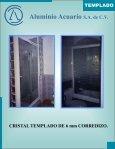 CRISTAL TEMPLADO catalogo - Aluminio Acuario Página de inicio - Page 7