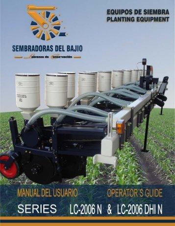 descargar manual - Sembradoras Del Bajío