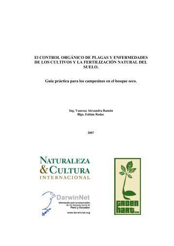 El CONTROL ORGÁNICO DE PLAGAS Y ENFERMEDADES DE ...