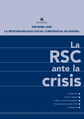 Libro RSC - Fundación Alternativas