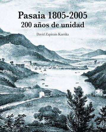 1. pasaia 1805-2005. 200 años de unidad - Pasaiako udala