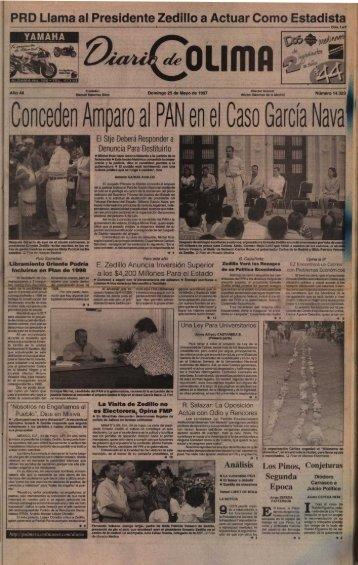 Conceden Affiparoal PAN en el Caso GarcÍa Nava - Universidad de ...