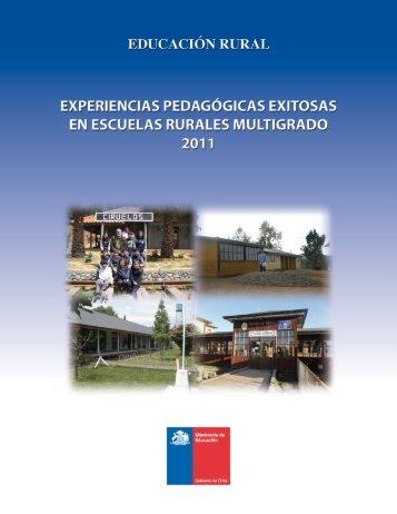 Experiencias Pedagógicas Exitosas - Ministerio de Educación