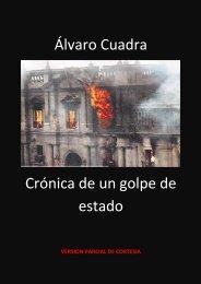 Álvaro Cuadra Crónica de un golpe de estado - El Ciudadano