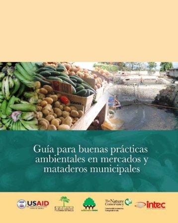 Guía para Buenas Prácticas Ambientales en Mercados y - FEDOMU