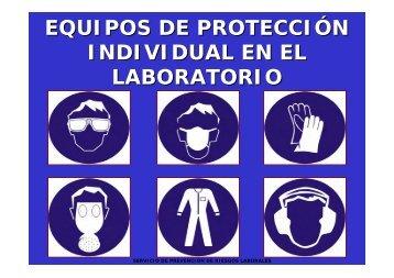 EQUIPOS DE PROTECCIÓN INDIVIDUAL EN EL LABORATORIO