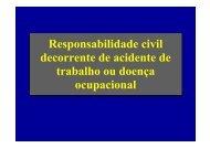 Responsabilidade civil decorrente de acidente de ... - Sinicesp