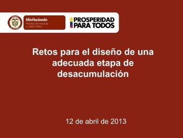 17. Andrés Restrepo - Retos para el diseño de una adecuada ... - FIAP