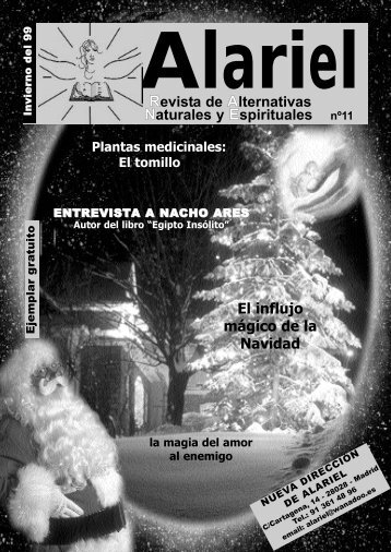 Revista de Alternativas Naturales y Espirituales ... - Editorial Creacion