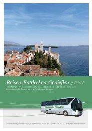 Reisen. Entdecken. Genießen - Ammersee-Reisen in Herrsching