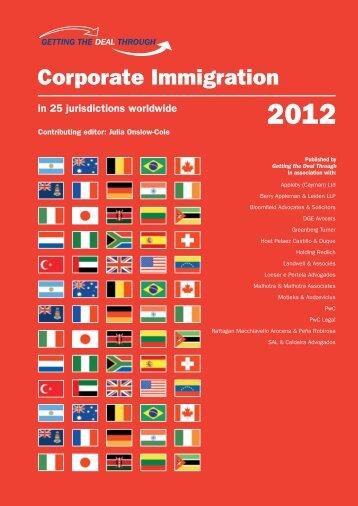 Corporate Immigration - Landwell et associés