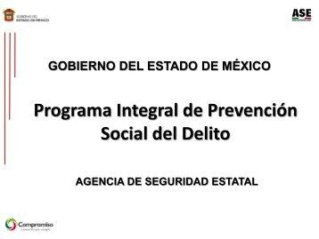 Programas de Prevención Social del Delito - Secretariado Ejecutivo