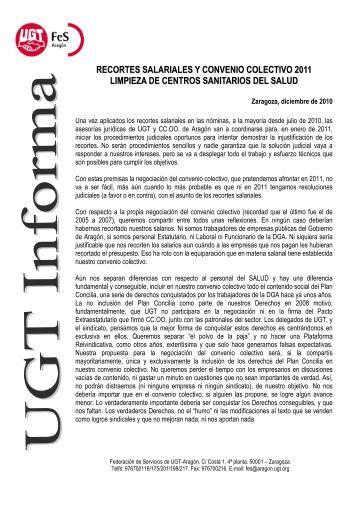UGT INFORMA 171210.pdf - Federacion de Servicios de UGT Aragon