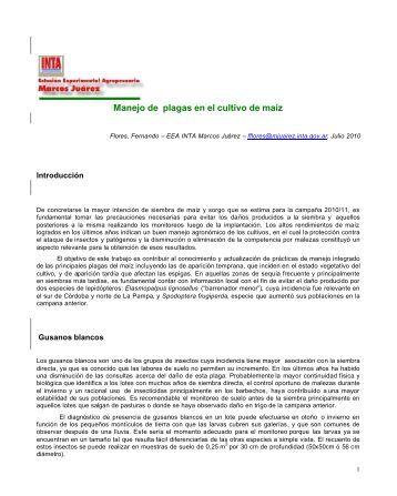 INTA-Manejo de plagas en el cultivo de maíz.pdf