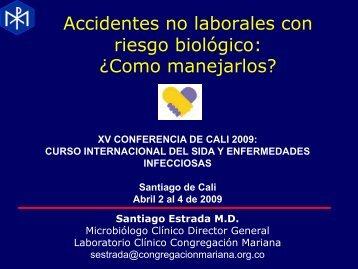 Accidentes no laborales con riesgo biológico: ¿Como manejarlos?