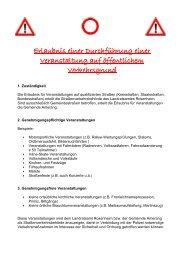 Informationen zu Veranstaltungen im öffentlichen ... - Amerang