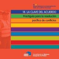 Guia 18 Resolucion Pacifica de Conflictos - Unes
