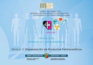 Módulo 3: Dispensación de Productos Farmaceúticos