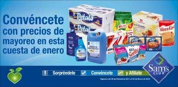 Cuesta de Enero - Sams MX