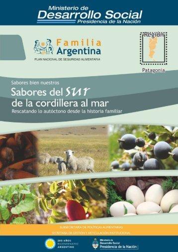Recetas Patagonia - Ministerio de Desarrollo Social