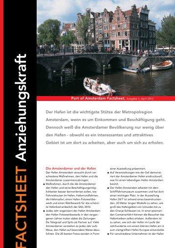 FACTSHEET Anziehungskraft - Haven Amsterdam