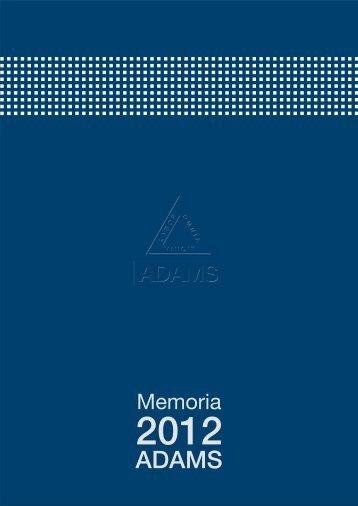 ADAMS-Memoria-2012