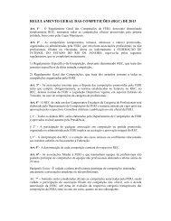 regulamento geral das competições 2013 - Federação de Futebol ...