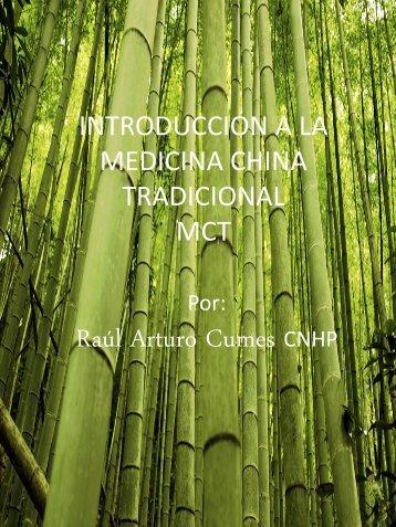 INTRODUCCION A LA MEDICINA CHINA TRADICIONAL CTM