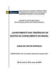 Jaqueline Barradas - Ibmec