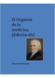 El Organon de la medicina (Edición 6b)