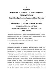 Magnesio y terreno alérgico - Infomagnesio.com