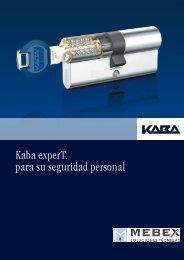 Descargar folleto Kaba experT - Mebex