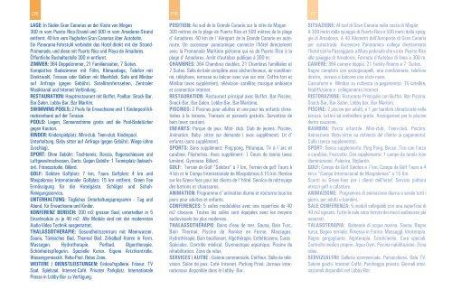 folleto amadores ingles.qxp - Gloria Palace