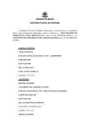 ESCOLA E AMADORES CADASTRADOS - Marinha do Brasil